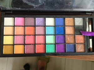 Coastal Scents Double Stack shimmer palette 42 shades